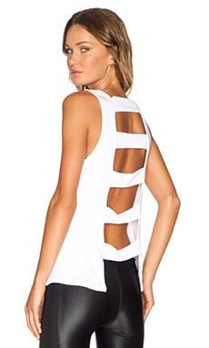 koral activewear Spectrum Tank in White & White