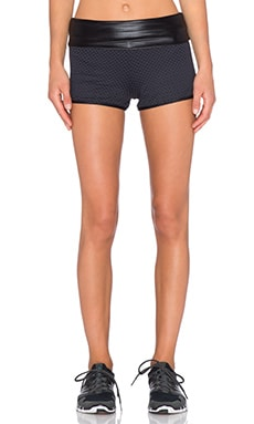 koral activewear Seychelles Flex Fold Over Short in Black