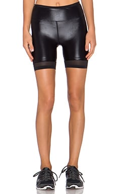 koral activewear Sky Scraper Binary Bicycle Short in Black