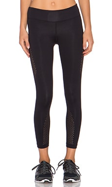 koral activewear Autobahn Visage Crop Legging in Black
