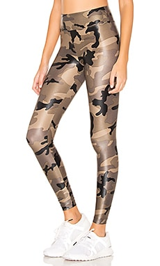 Lustrous High Rise Legging KORAL $96 BEST SELLER