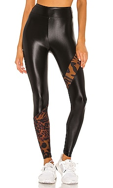 Trek High Rise Cheetara Legging KORAL $110 NEW ARRIVAL