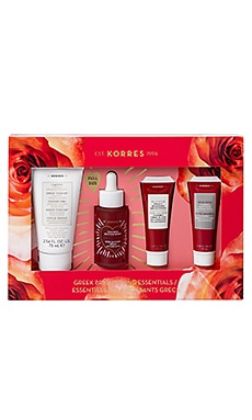 Greek Brightening Essentials Set Korres $75