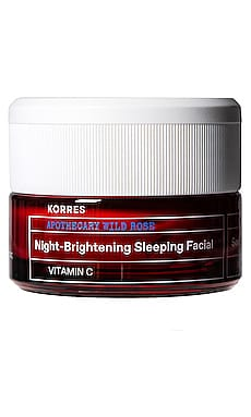 Wild Rose Night-Brightening Sleeping Facial Korres $48