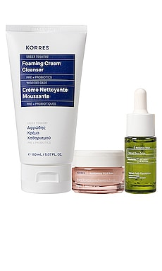 Grecian Glow Skincare Rituals Set Korres $38 NEW