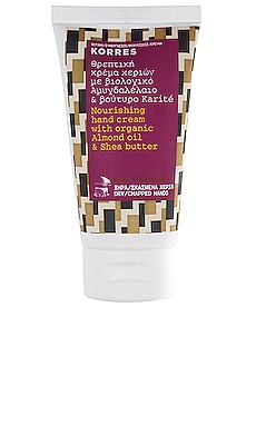 Almond & Shea Hand Cream Korres $15