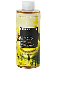 Vanilla Guava Shower Gel Korres $23 BEST SELLER