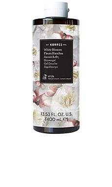 White Blossom Shower Gel Korres $23 BEST SELLER