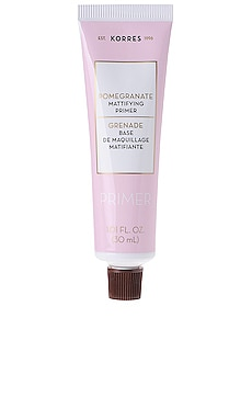 Pomegranate Mattifying Face Primer Korres $33