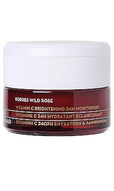 Wild Rose Vitamin C 24 Hour Moisturizer Korres $39