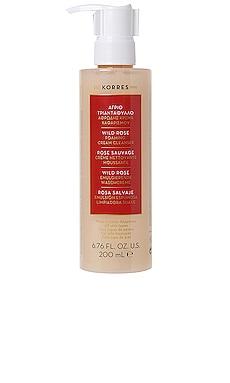 Wild Rose Foaming Cream Cleanser Korres $28