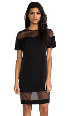 keepsake Clear Spirits Dress in Black