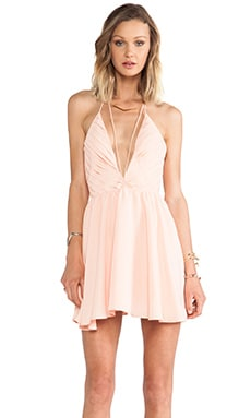 keepsake Riptide Dress in Apricot