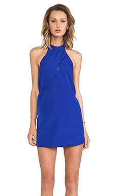One More Night Dress in Cobalt