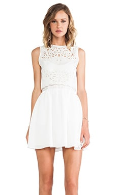 keepsake Begin Again Dress in Ivory