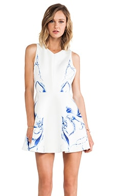 keepsake Runaway Dress in Porcelain Floral Ivory