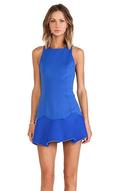 Love Lies Dress in Ultra Blue