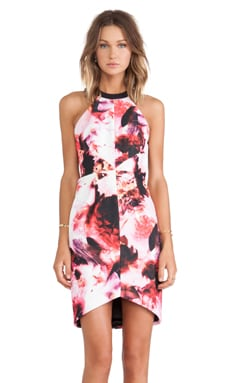 keepsake Adore You Dress in Abstract Floral Print