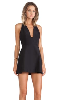 keepsake Lost Control Dress in Black