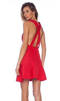 keepsake Better Off Alone Dress in Red
