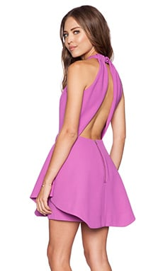 keepsake To the End Mini Dress in Orchid