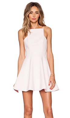keepsake Restless Heart Mini Dress in Pastel Pink