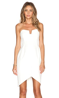 keepsake Divide Dress in Ivory