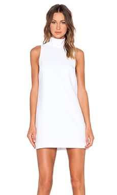 keepsake Keep Up Mini Dress in Ivory