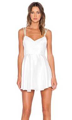 keepsake Double Take Dress in Ivory