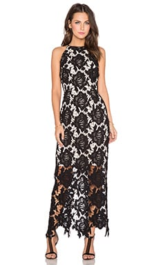 keepsake True Love Maxi Dress in Black