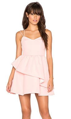 keepsake Last Stand Dress in Blush