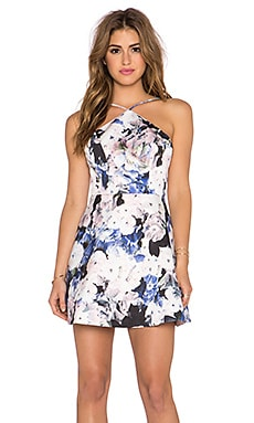 keepsake Crossroads Mini Dress in Watercolour Floral
