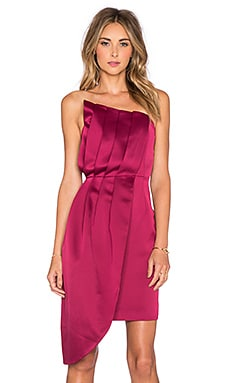 keepsake Soul Surrender Dress in Red Plum