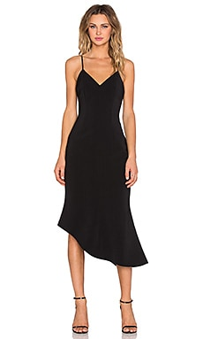 keepsake Rip Tide Dress in Black