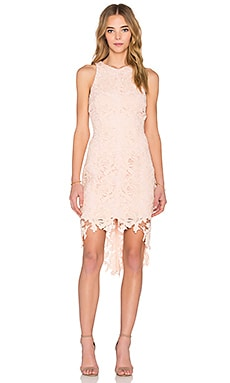 keepsake x REVOLVE I Will Wait Dress in Champagne Pink