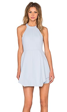 x REVOLVE To The End Mini Dress in Pastel Blue