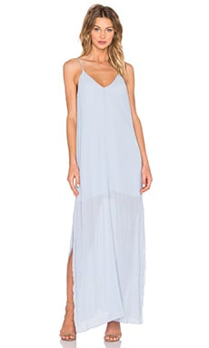 Let Go Maxi Dress in Pale Blue