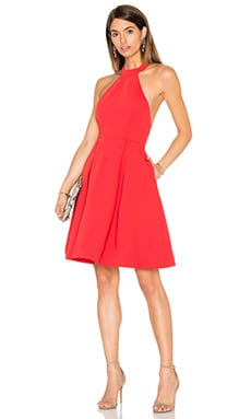 keepsake City Heat Dress in Red