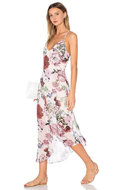 One Life Dress in Light Floral Print