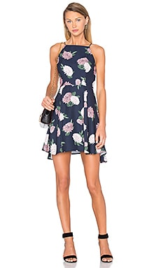Up For Air Dress en Navy Floral