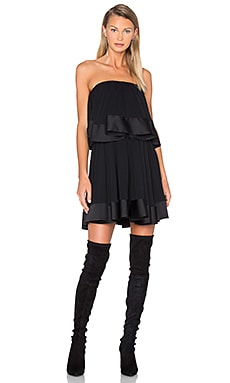 Not To Be Mini Dress en Noir