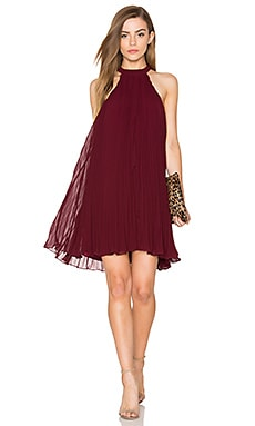 keepsake Clarity Mini Dress in Fig