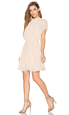keepsake Come Back Mini Dress in Cream