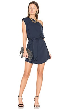 Meadows Mini Dress in Navy