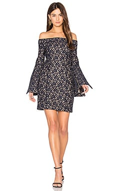 Too Soon Mini Dress in Navy