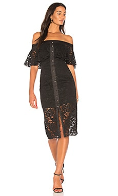 Star Crossed Lace Midi Dress