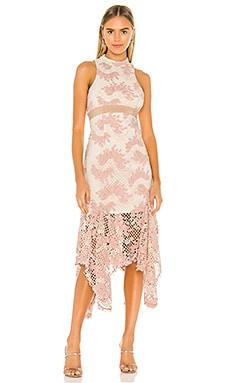 No Air Lace Midi Dress keepsake $260 NEW ARRIVAL