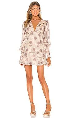 Oblivion Long Sleeve Mini Dress keepsake $102
