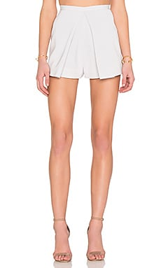 keepsake Great Minds Short in Pale Grey