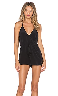 keepsake Haunted Paradise Romper in Black